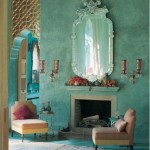 green-walls-moroccan-design
