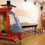 helicopter carnival style living room