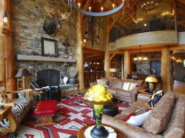 Ski Lodge Lounge Room Panda 39 S House