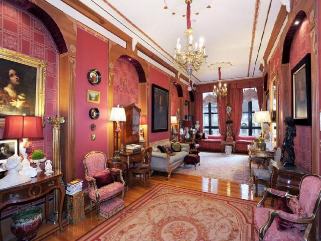 Pink living room panda 39 s house for Living room hair salon