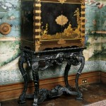 Eighteenth-century Japanese lacquer cabinet