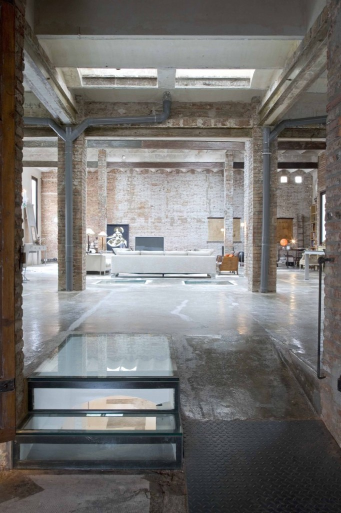 warehouse to loft conversion in Barcelona