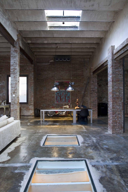 Loft Barcelona Warehouse Conversion 7 Panda 39 S House