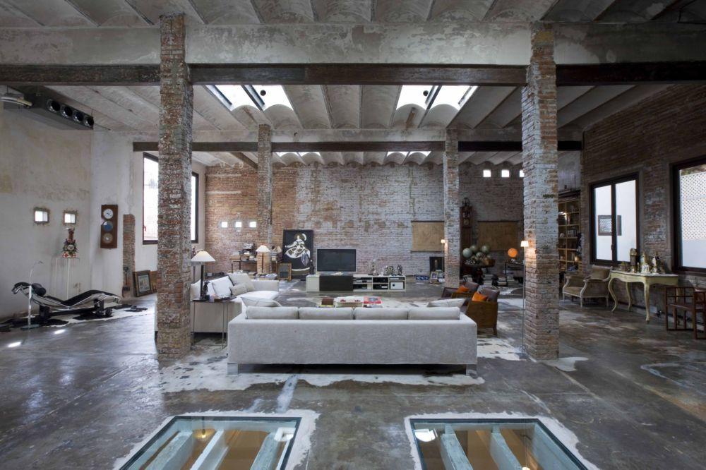 Loft Barcelona Warehouse Conversion Panda 39 S House