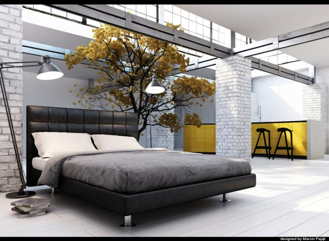 yellow and black interiors black grey yellow bedroom