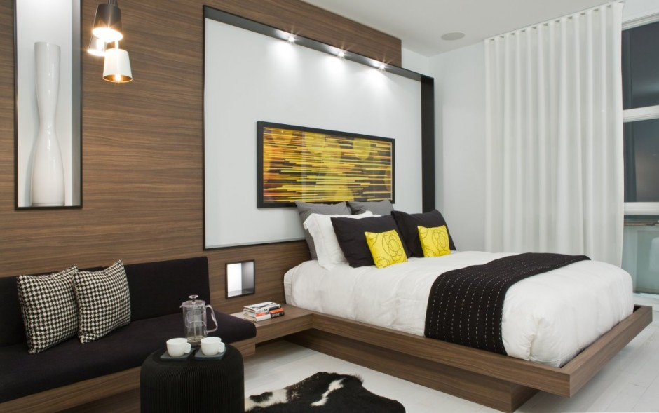 black yellow bedroom panda s house