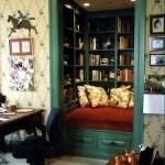 bookshelf nook