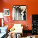 living-room-orange-wall