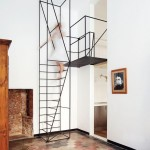 metal framed stairs