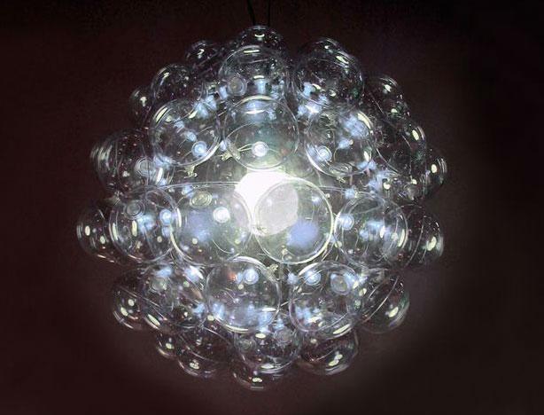 moon lamp chandelier