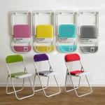 pantone colored folding chairs