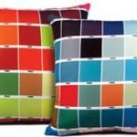 cushions in pantone colors