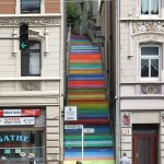 pantone staircase