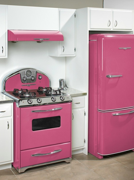 Glossy Pink Retro Panda S House