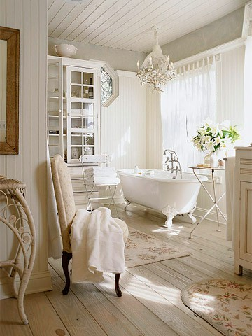 Shabby Chic Bathrooms | Panda's House