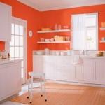 white-orange-kitchen