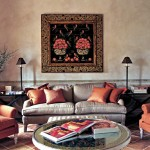 Lounge room in Belvedere castle in Umbria Italy