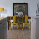Mustard yellow chairs