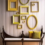 yellow frames in mustard yellow