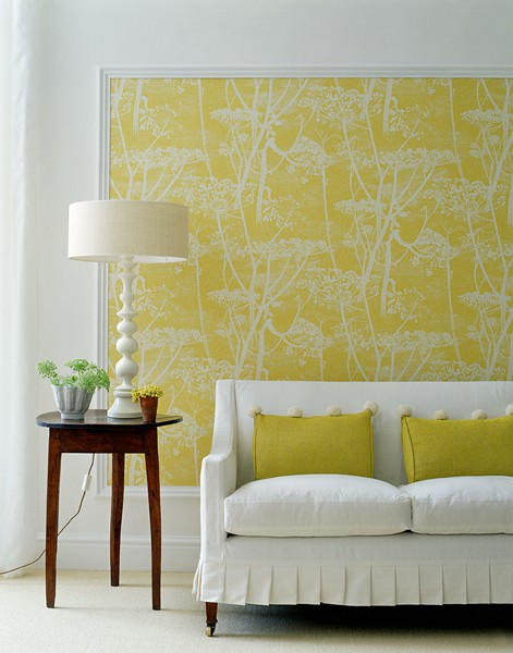 Mustard Yellow Living Room
