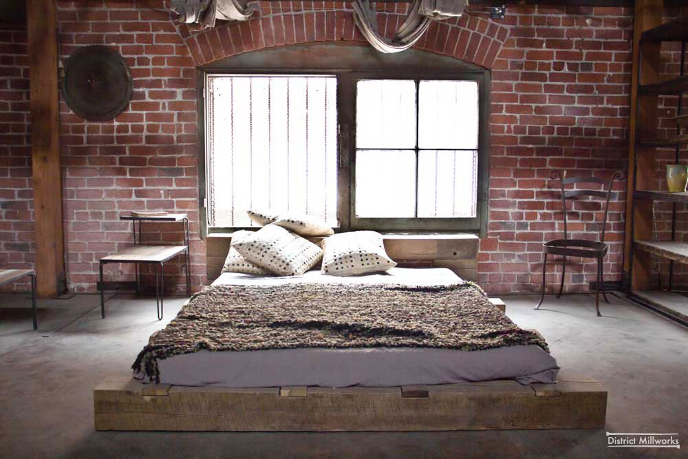 Rustic urban industrial bedroom design 1 panda 39 s house Urban home decor