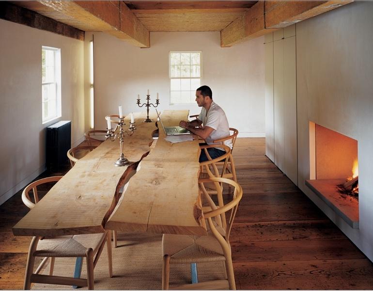 Wishbone Chairs And Maple Slab Table Panda 39 S House