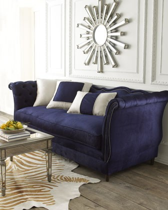 Blue velvet interior inspiration