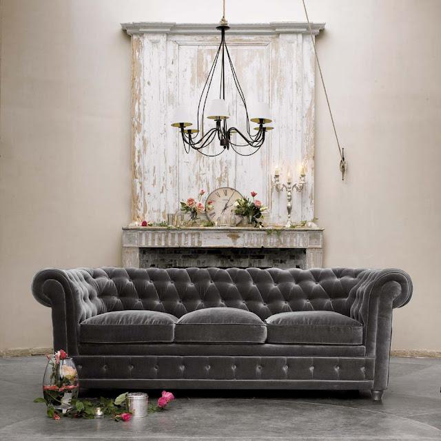 Tufted Sofa Interior Design Panda S House