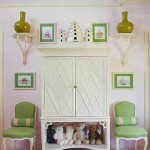 Pink and Green Interiors