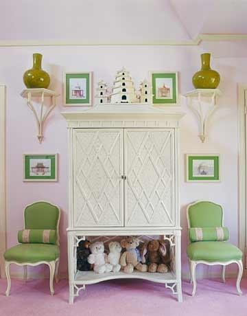 Pink And Green Interiors Panda 39 S House