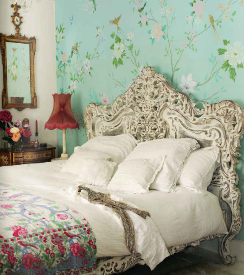 Romantic vintage french bedroom panda 39 s house for Shabby chic bedroom designs