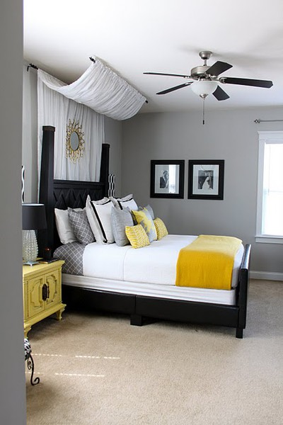 touch of yellow in the bedroom panda 39 s house