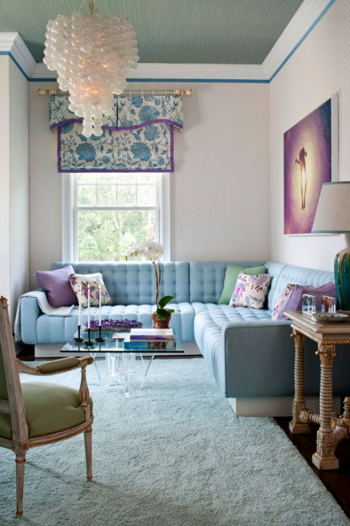 Purple and teal living room for Teal and purple living room