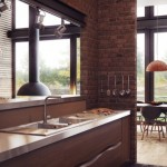 A Loft in Brick and Wood