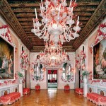 Dodie Rosenkrans Venice Palace – coral and gold