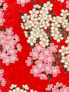 Japanese wa-pattern red