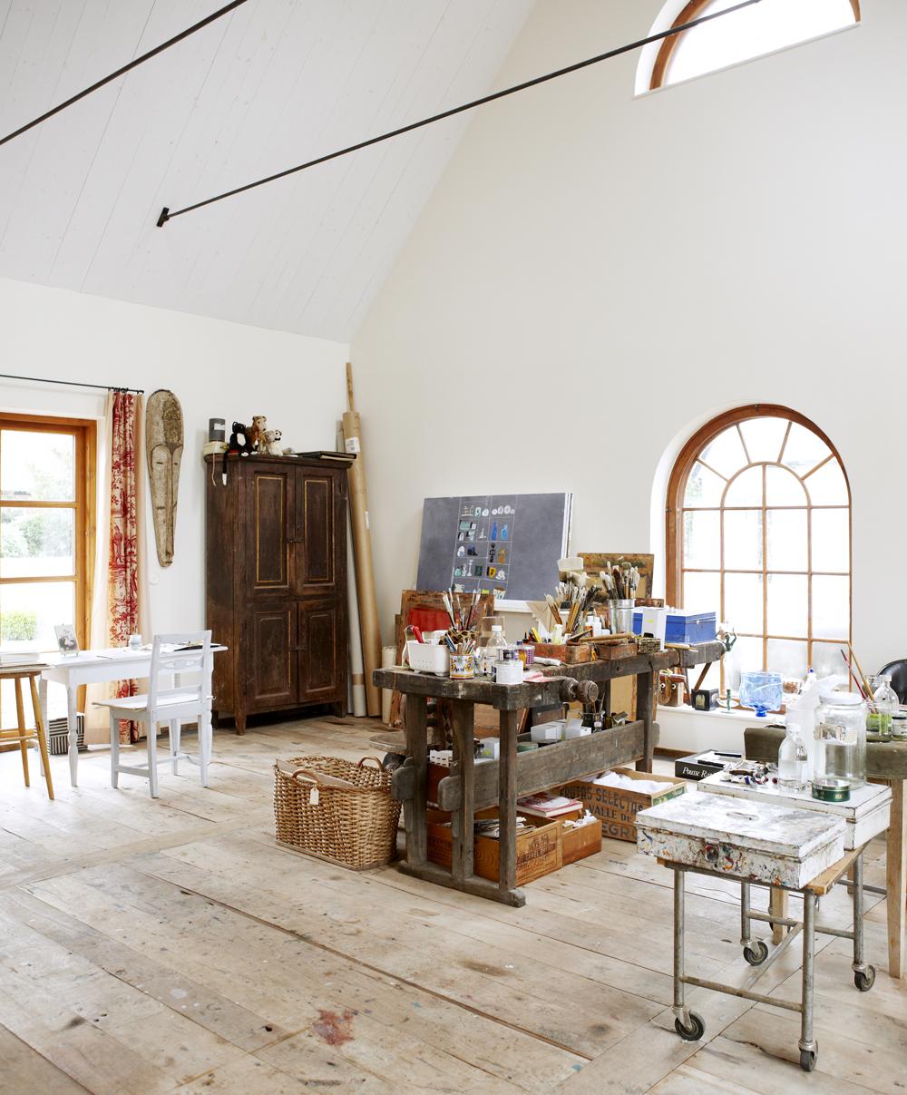 Madeleine Pyk's studio home studio