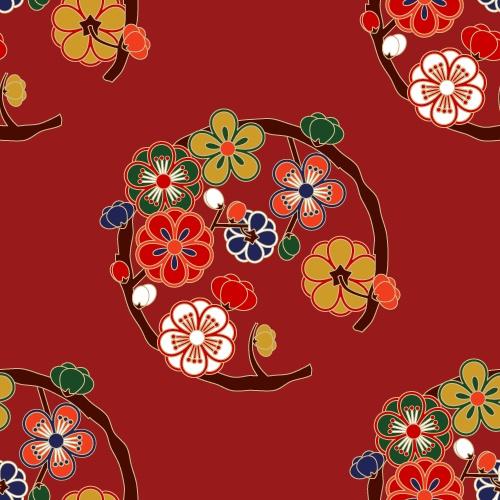 Marubun plum blossoms