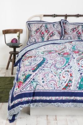 boho paisely pattern bedroom