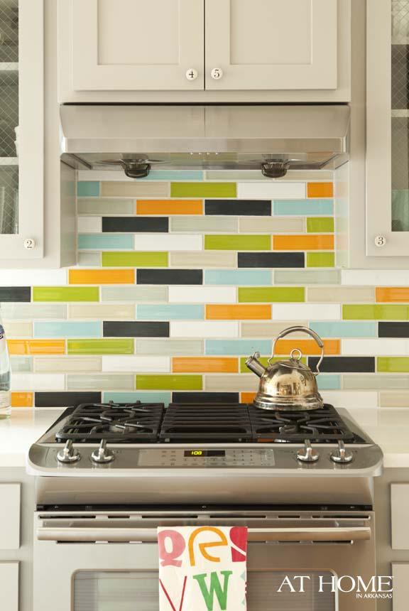 Orange lime and turquoise kitchen panda 39 s house - Turquoise and orange kitchen ...