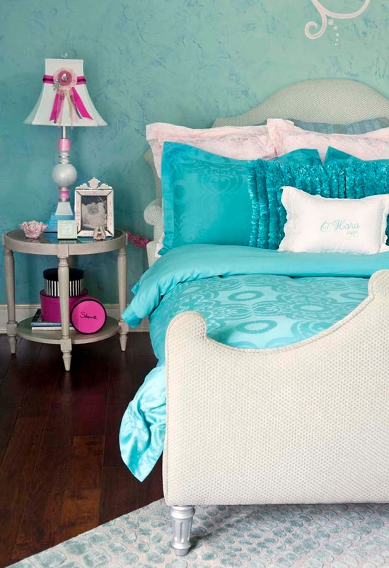 Gallery for purple and turquoise bedroom - Turquoise and pink bedroom ...