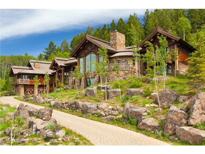 Spring Creek Ranch Home Mansion 13 Exterior Pandas House