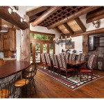 spring creek ranch home mansion 4 kitchen and dining