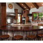 spring creek ranch home mansion 7 kitchen