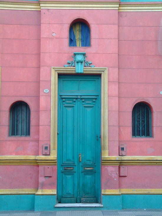turquoise & Pink in Argentina