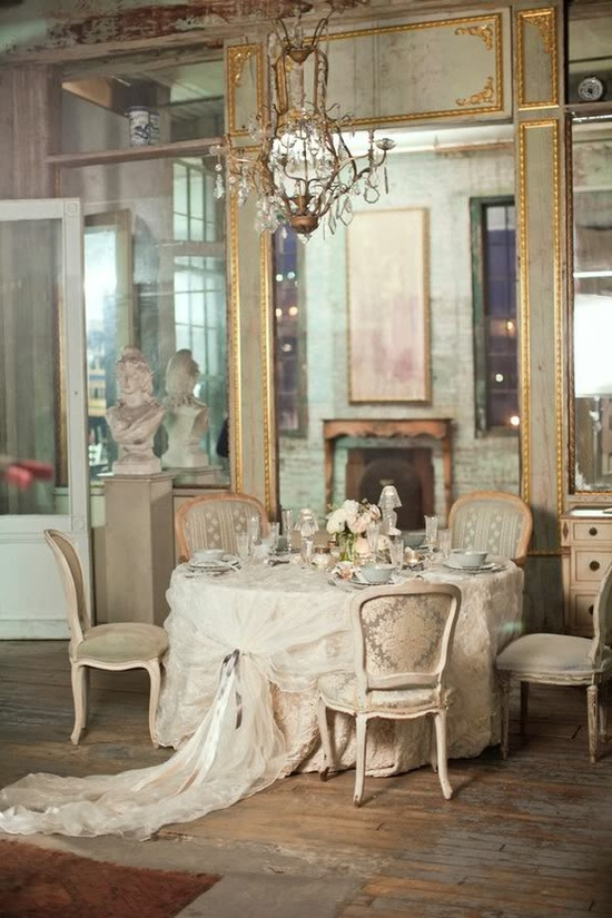 chic french dining