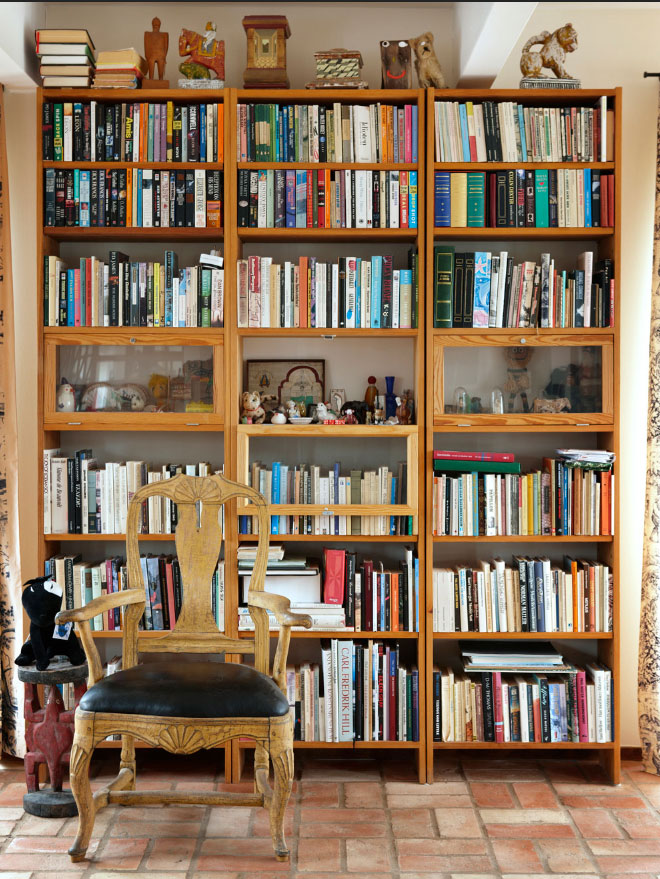 bookcase library home