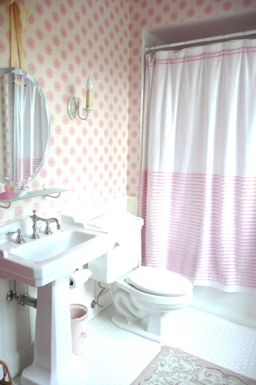 light pink bathroom light pink and white bathrooms panda s house 13464