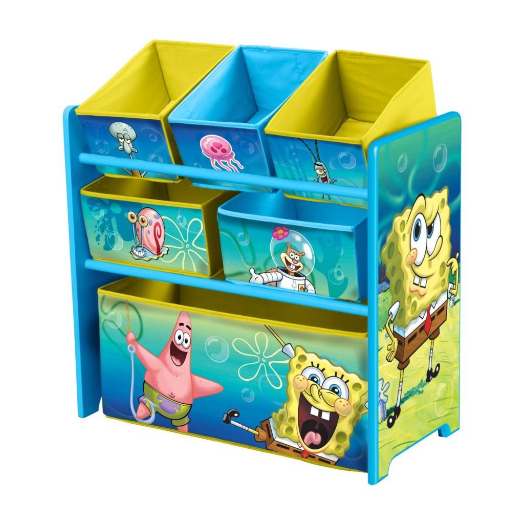 Nickelodeon Sponge Bob Multi-Bin Toy Organizer