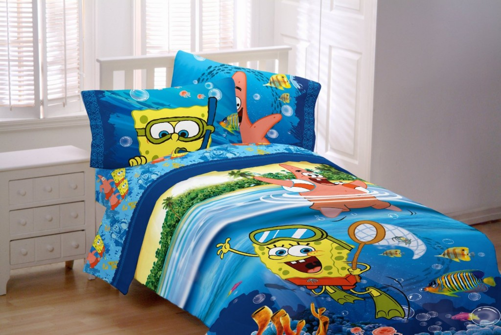 Sponge Bob Sea Adventure Sheet Set bedding